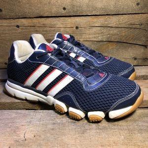 Adidas Plush IV Navy Mesh Training Shoes